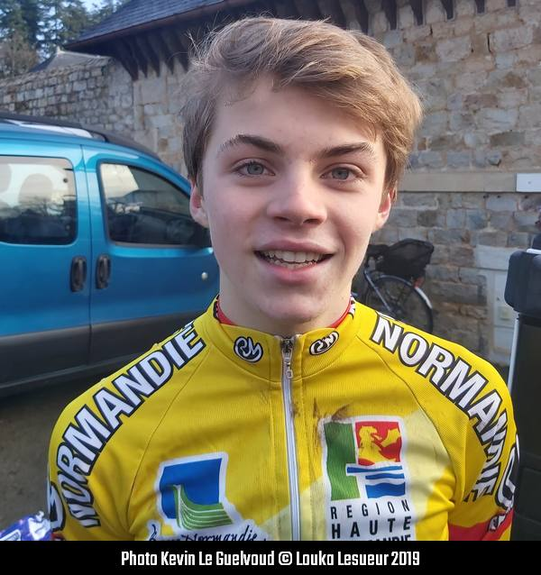 Louka Lesueur Coupe De France 2019 photo Kevin Le Guelvoud